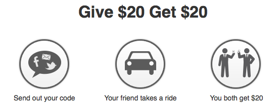 Give $20 Get $20