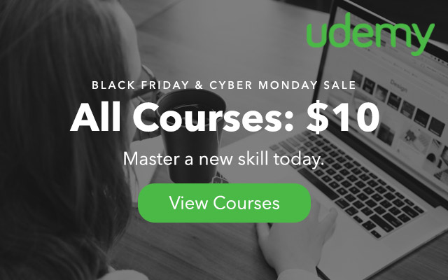 Udemy Black Friday Deal