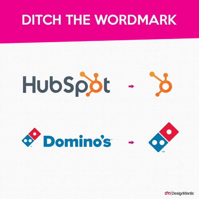 Ditch the Wordmark