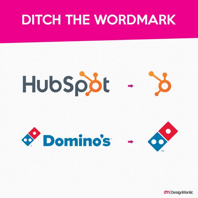 Ditch the Wordmark