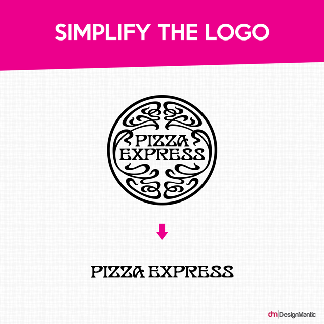 Simplify the logo