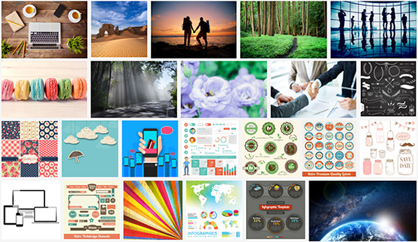 Graphic Stock Thumbnails