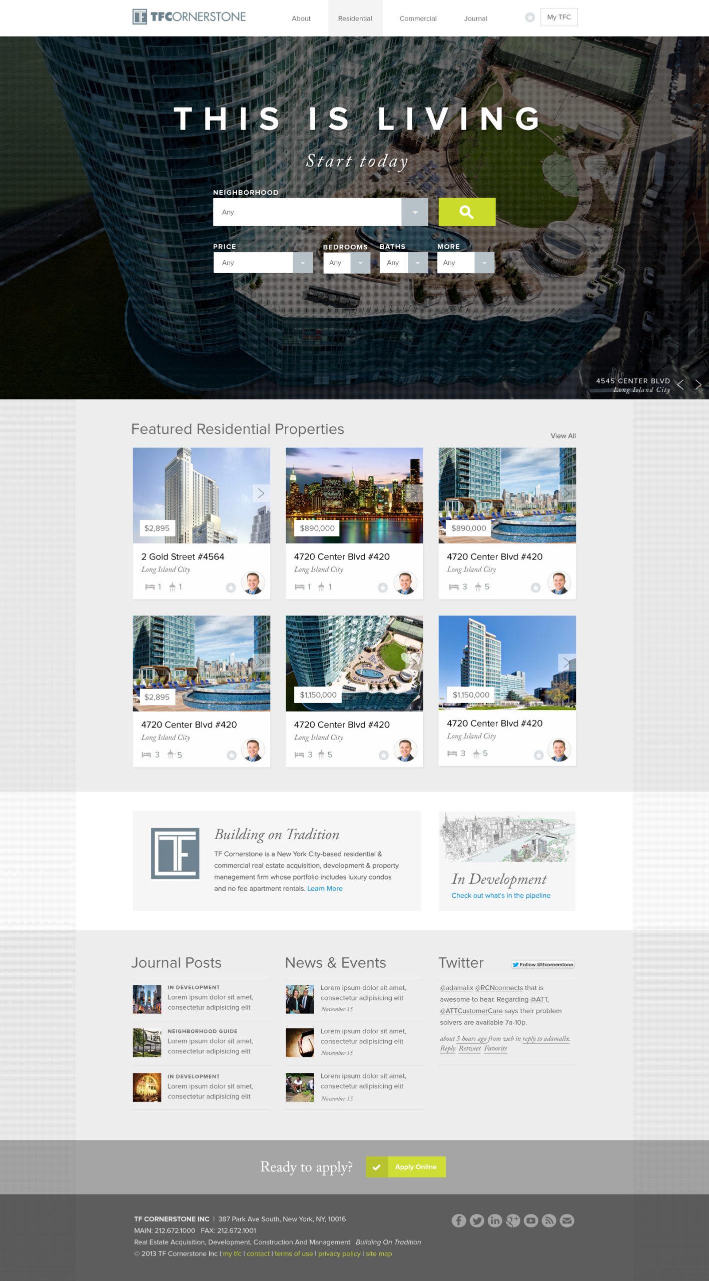 TFC Website Home