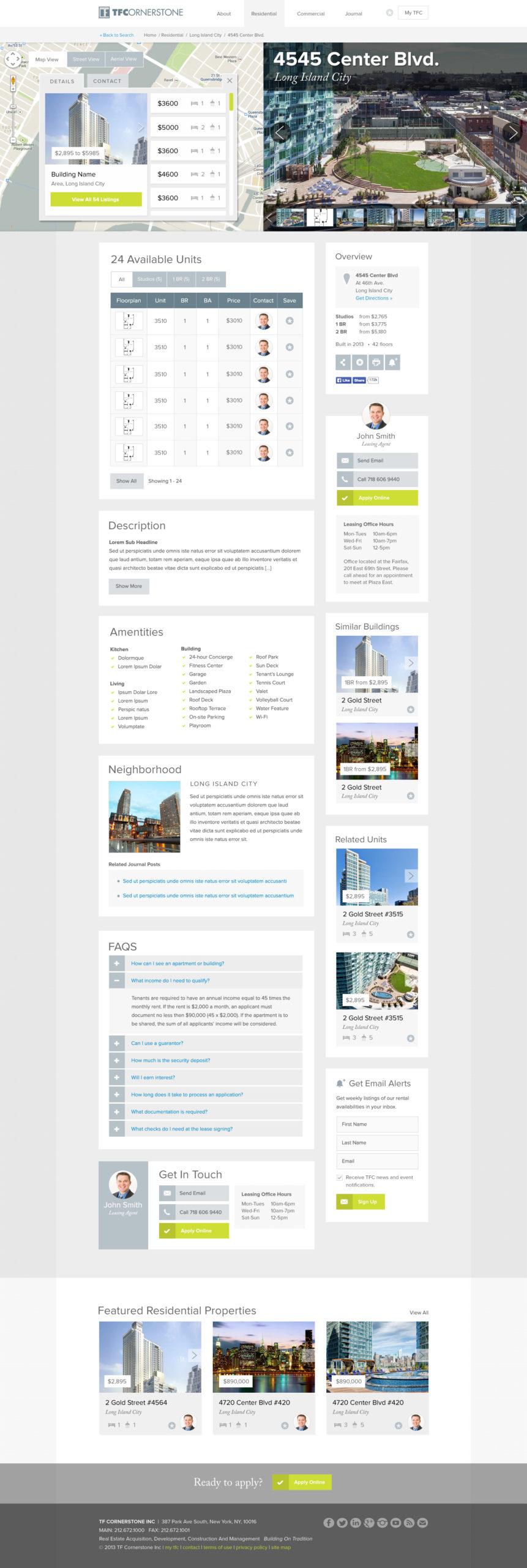 TFC Website Building