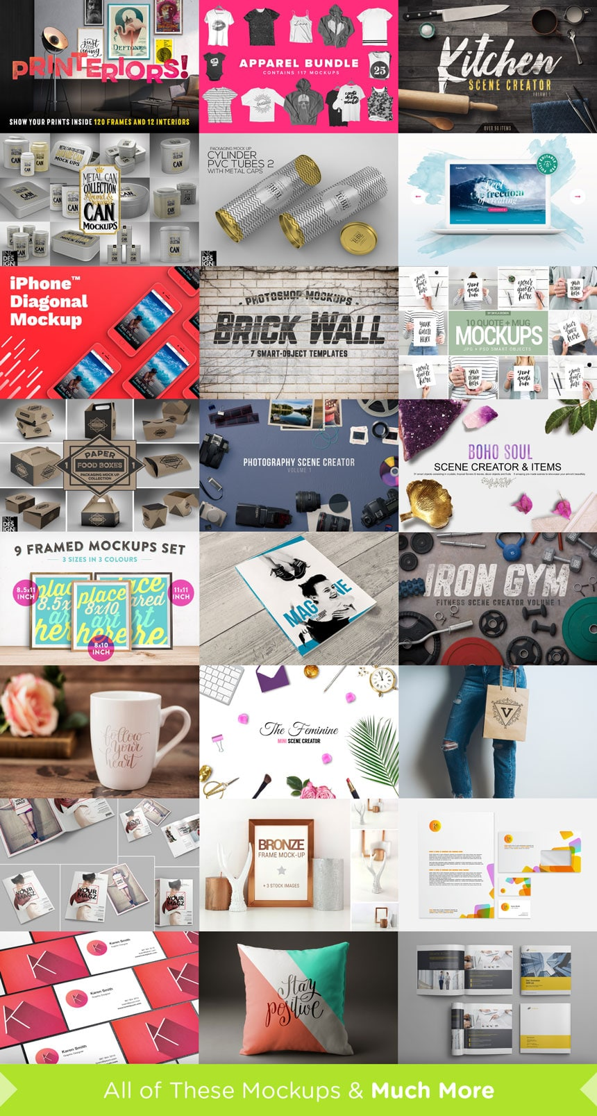 The Top Rated Mockups Collection ?? 97% Off