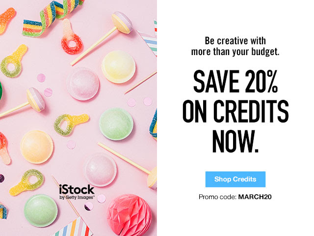Save 20% Off iStock Credits [5 Days Only]