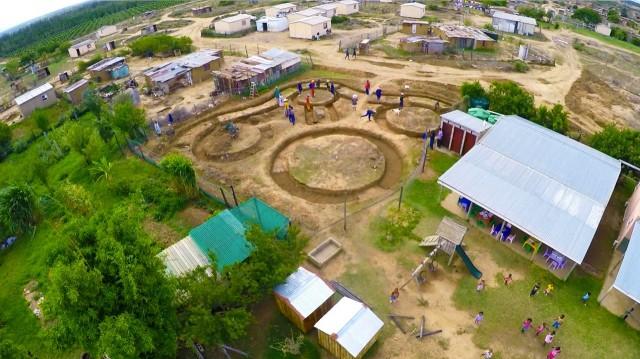 Langbos Building Aerial View