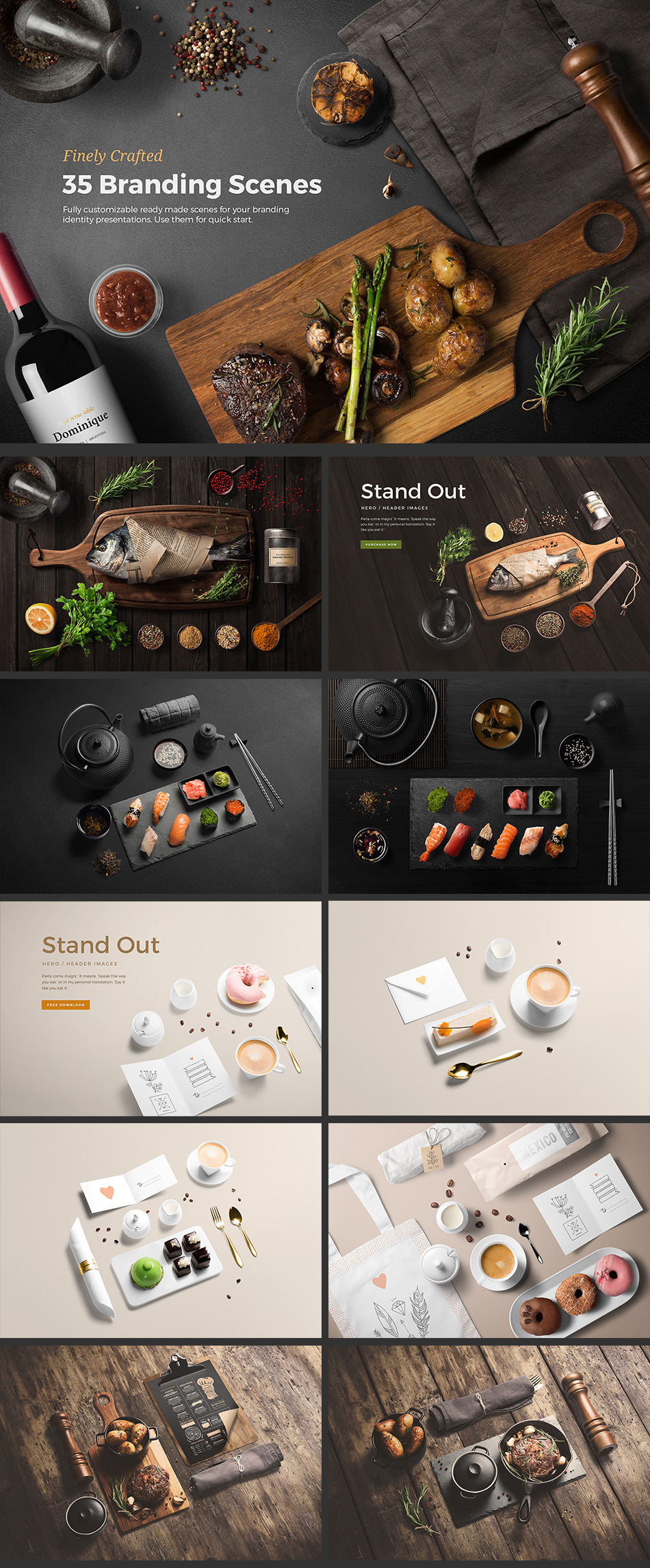 Food Scene Generator