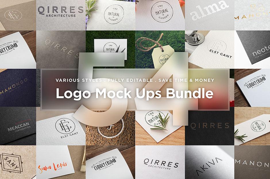 Logo Mock Ups Bundle