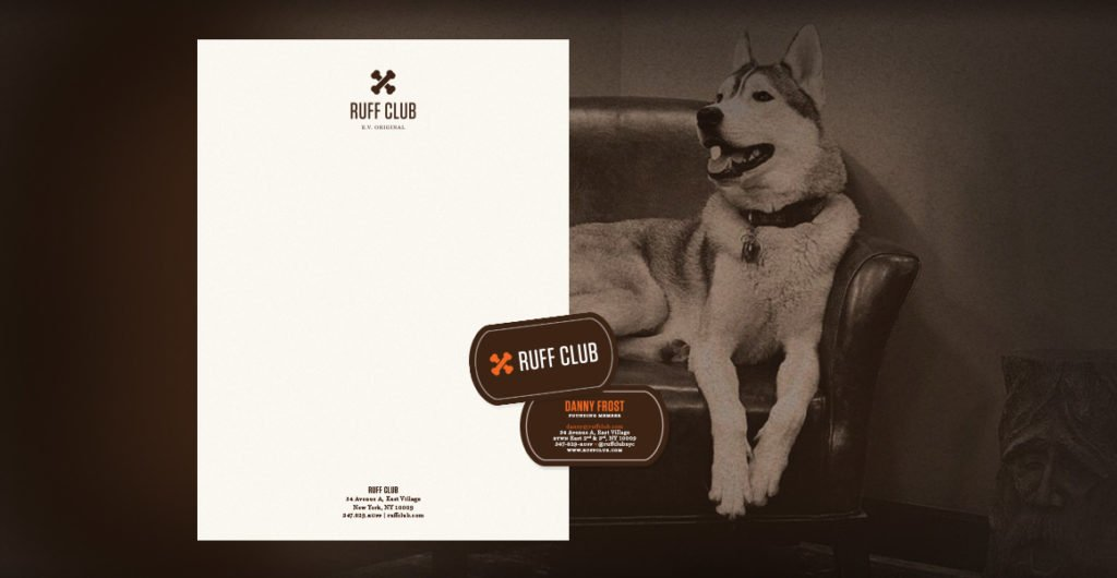 Ruff Club Stationery