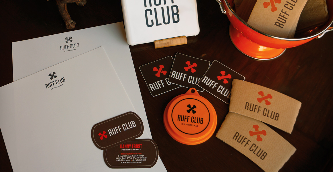 Ruff Club Stationery and Swag