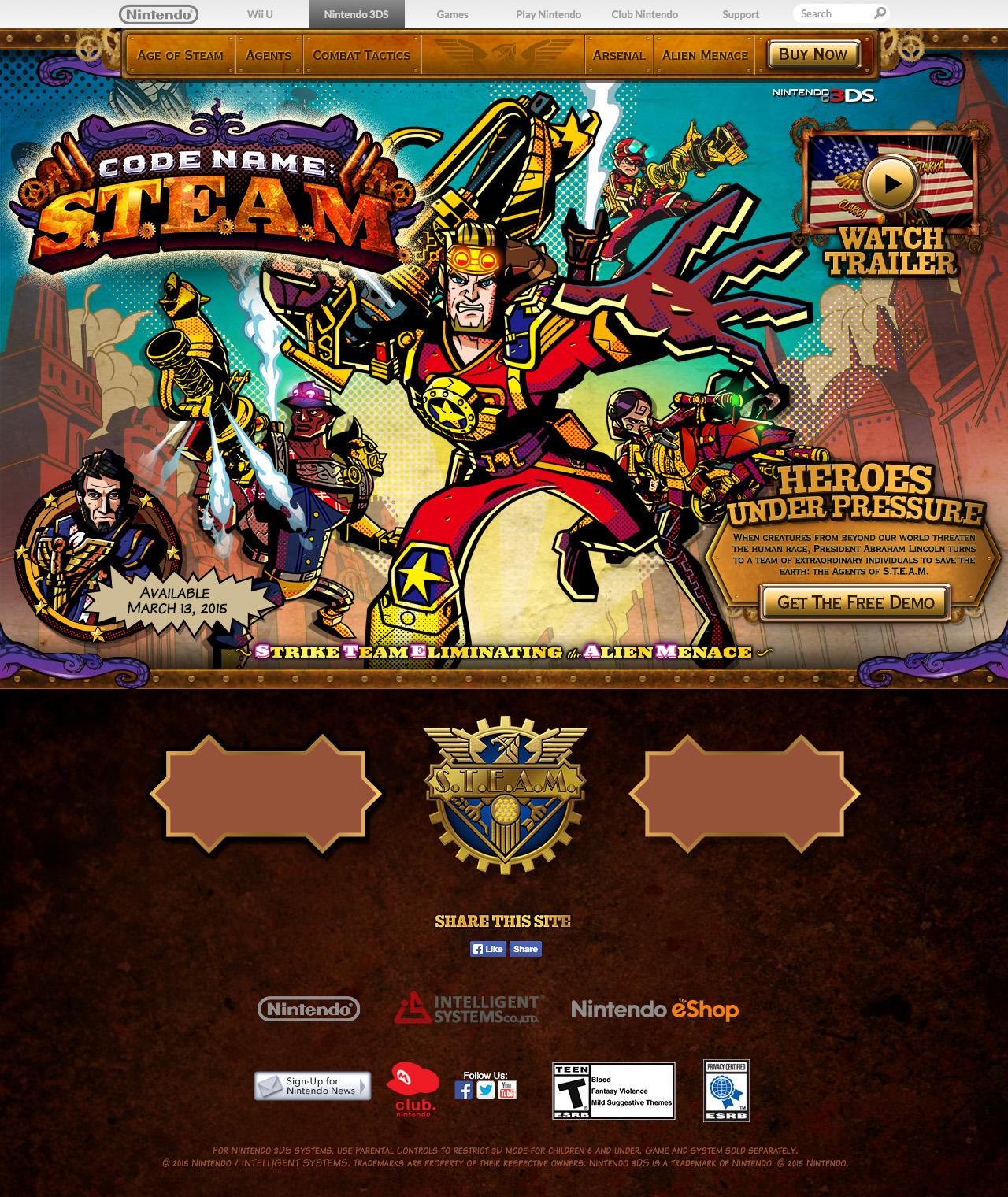 STEAM Website
