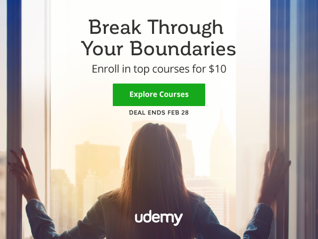 $10 Online Courses from Udemy [5 Days Only]