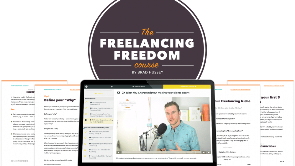 Freelancer Freedom Course