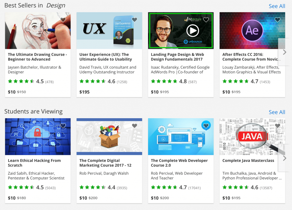 $10 Online Courses from Udemy (10 Days Only)