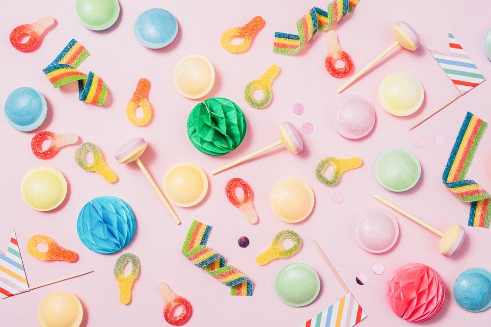 pink pastel candy background just� creative