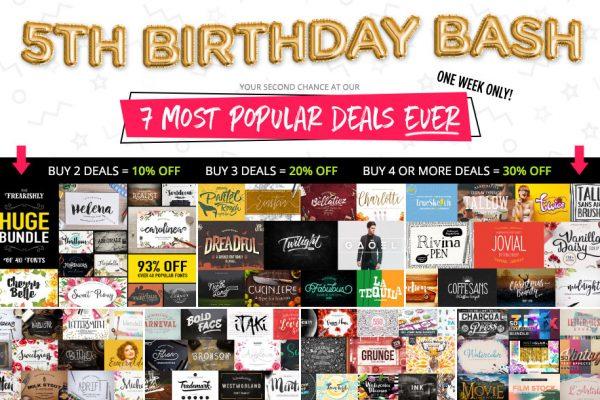 5th Birthday Bash