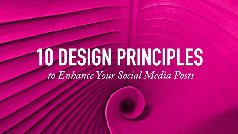 10 Design Principles To Enhance Your Social Media Posts Just Creative