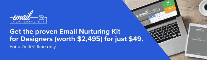 Email Nurturing Kit Discount