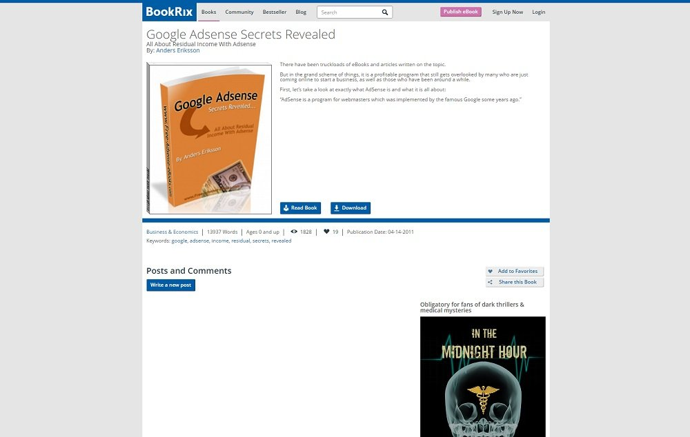 16 Free eBooks on Business, Marketing, Advertising & Social Media