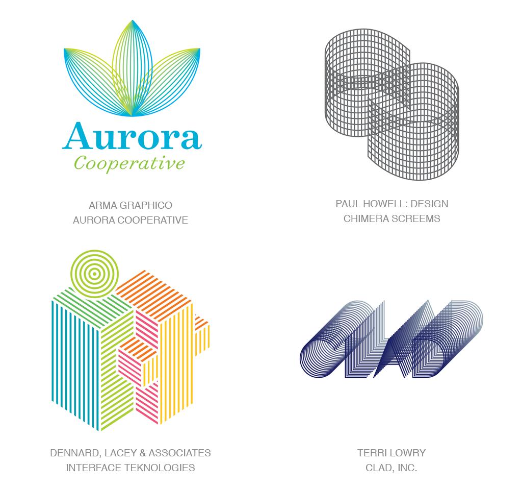 Logo Design Trends 2017 - Micro Lines