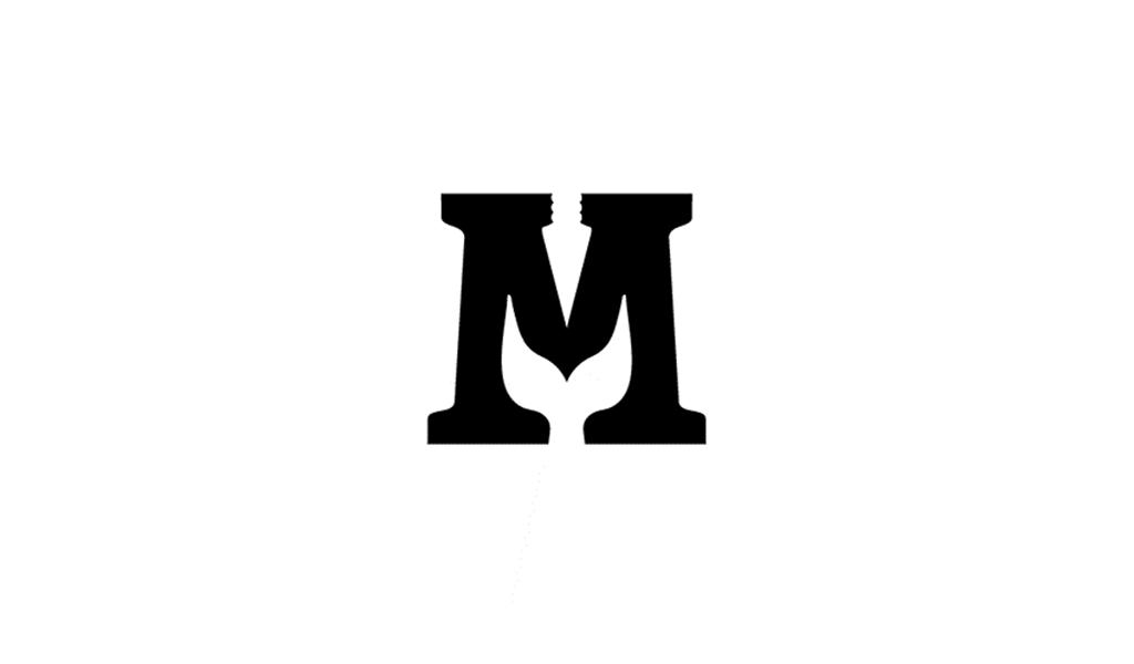 Negative Space Logo M