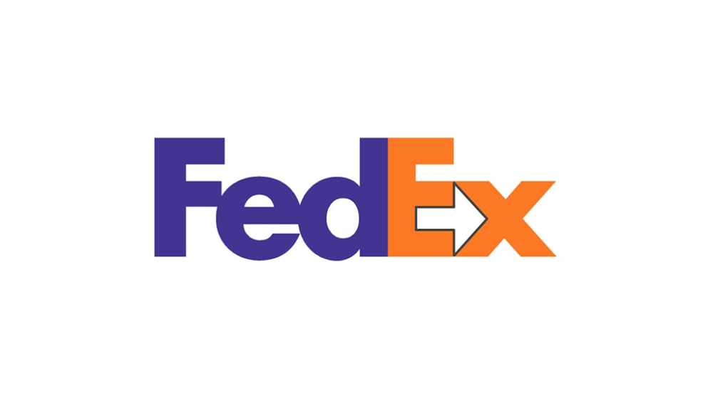 Negative Space Logo FedEx
