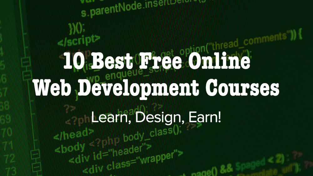 web development course Ccbc has a variety of courses to help you create a website whether you want to  start a website of your own, begin a career as a web developer, or create better.