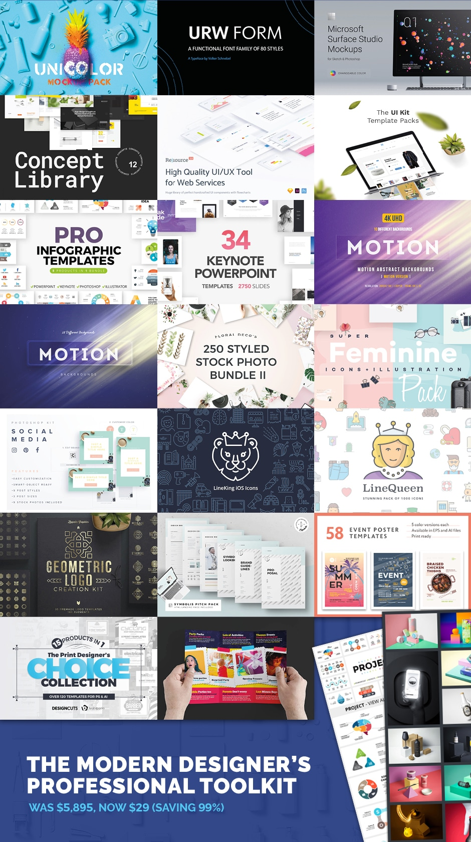 Modern Designer Toolkit