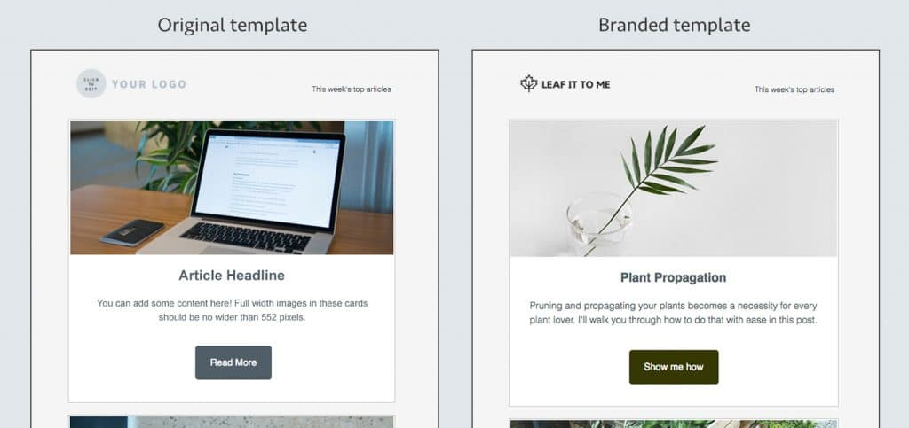 Aweber Email Template