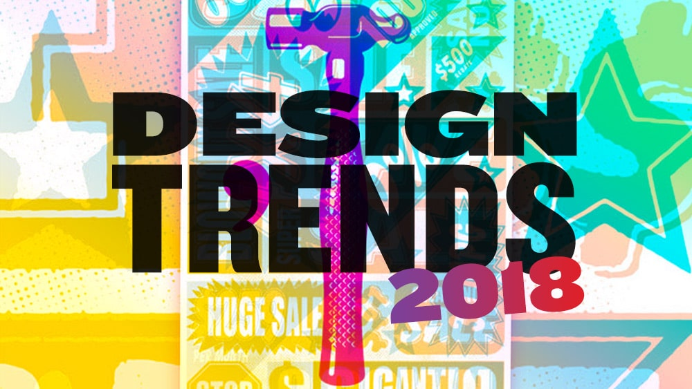 Image result for 10 Huge Graphic Design Trends To Look Out For 2018