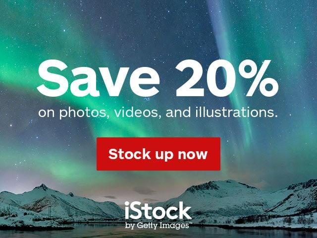 iStock Sale