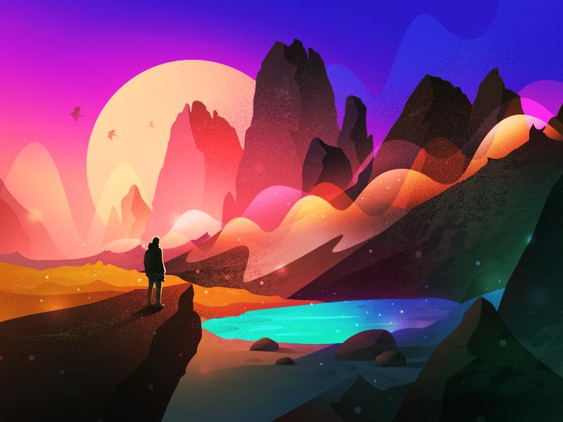 landscape graphic designer