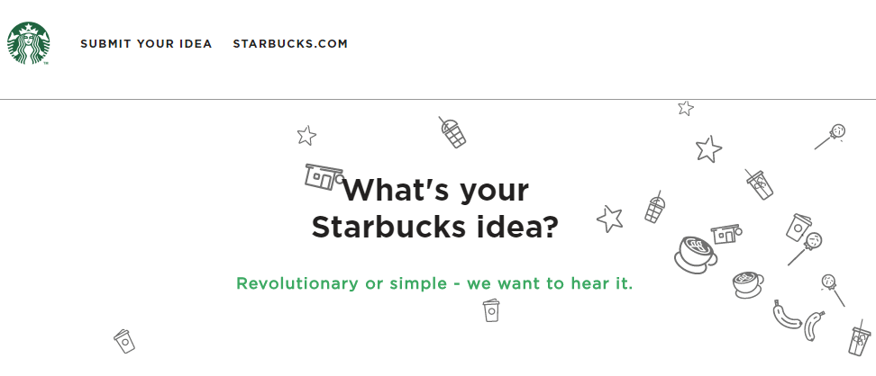 Starbucks Idea