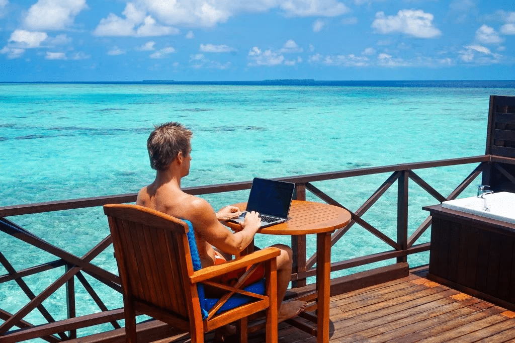 Jacob Cass in Maldives