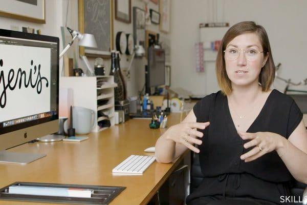 Jessica Hische Skillshare Logotype Masterclass