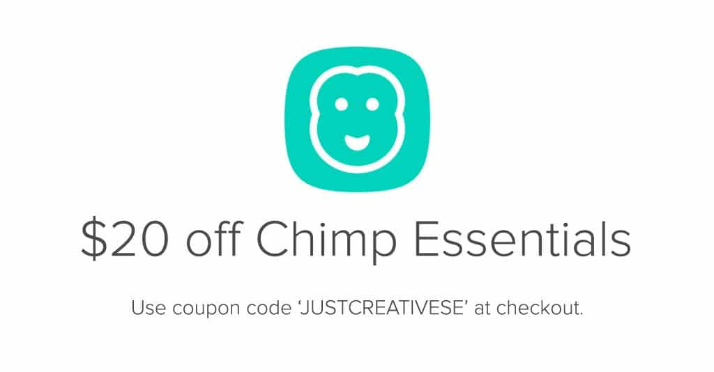 Chimp essentials how to grow your business with mailchimp just chimp essentials use coupon code fandeluxe Image collections