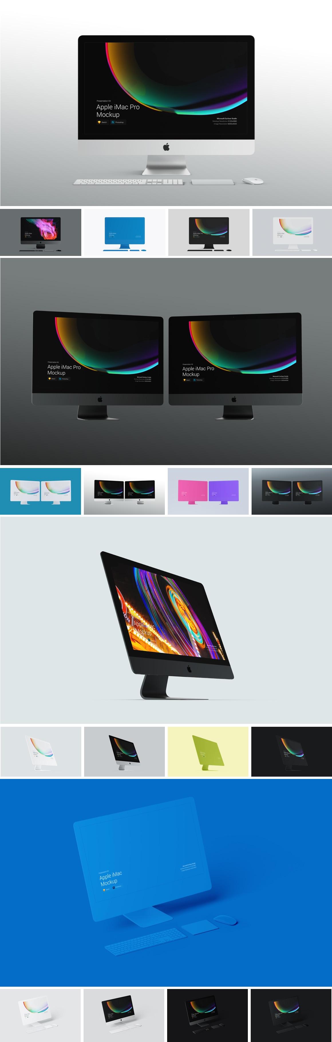 Apple Mac Mockups