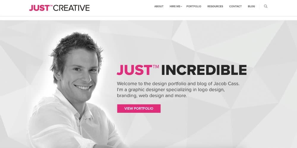 Just Creative Site