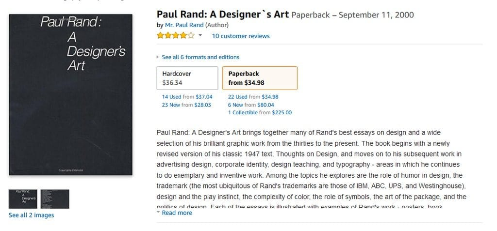 Paul Rand Designers Art