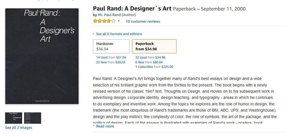 保罗·兰德设计师艺术