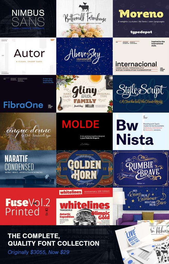 Quality Font Collection