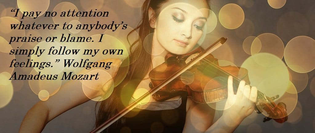 Creativity Quote Mozart