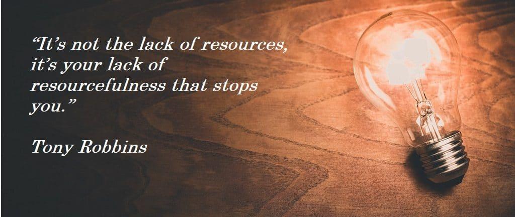 Tony Robbinson Quote