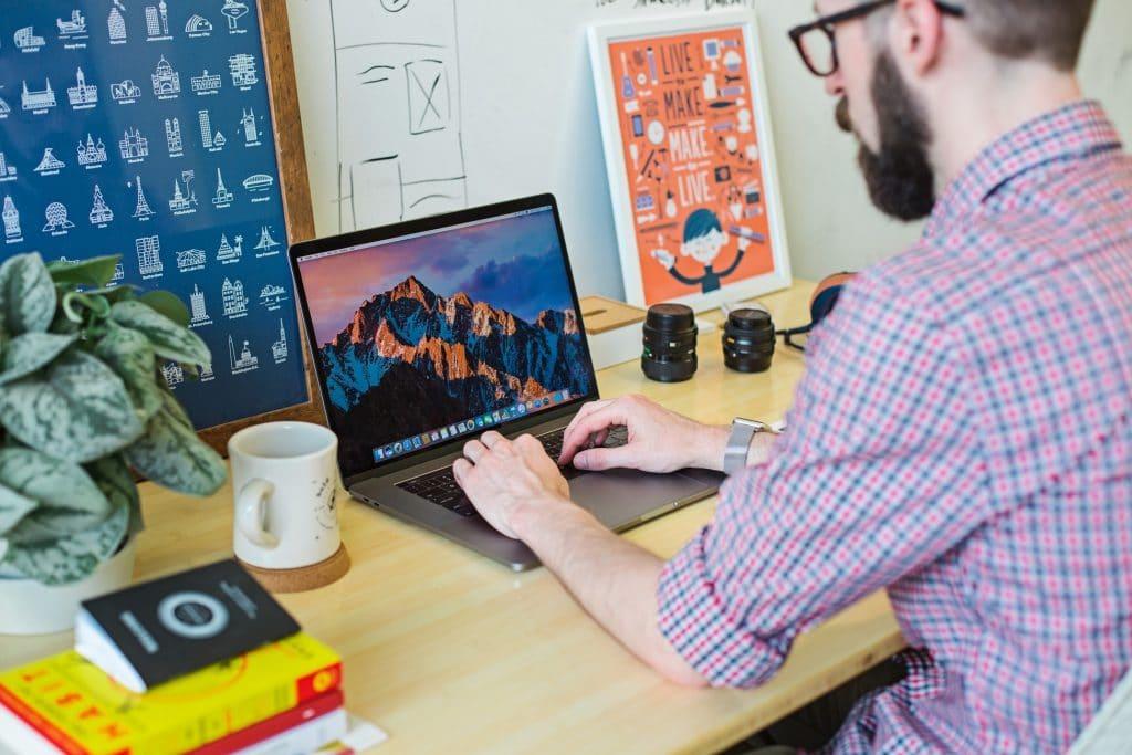 Graphic Design Freelancer at Computer