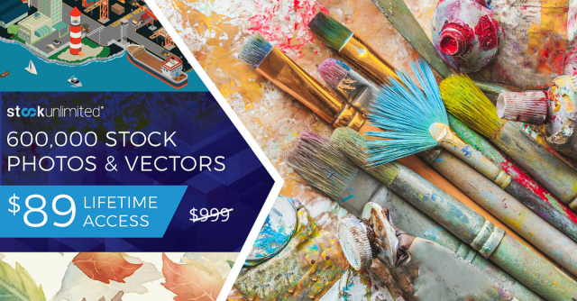 600,000 Stock Photos & Vectors. $89 for Lifetime Access!