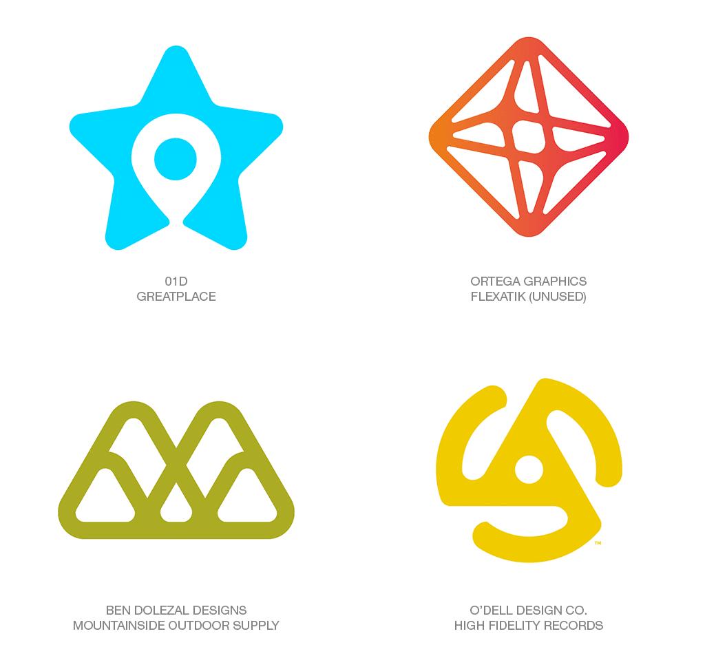 Logo Design Trend 2018: Tumbled