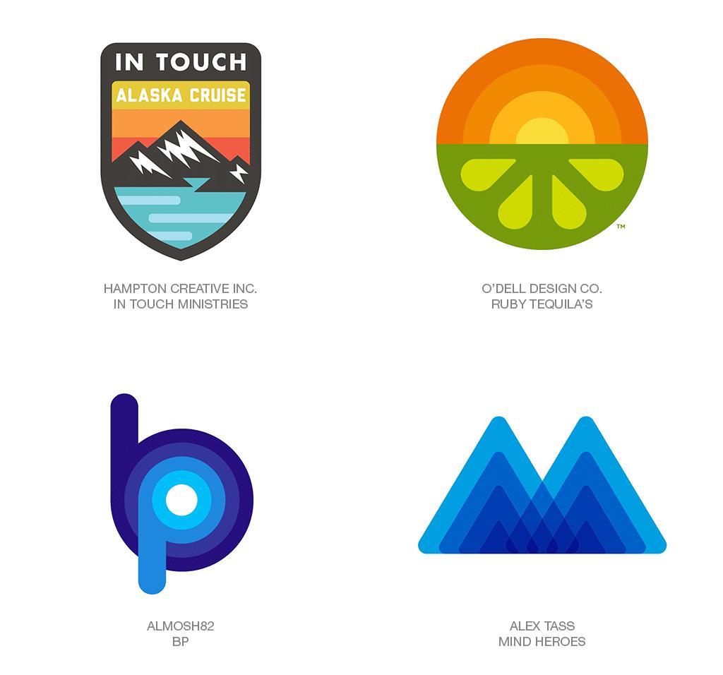 Logo Design Trend 2018: Fattyfade