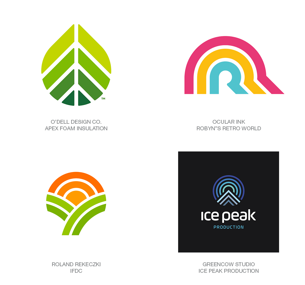 Logo Design Trend 2018: LinearFade