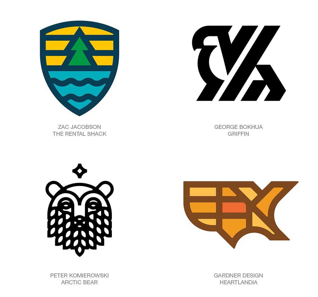 Logo Design Trend 2018: Fieldlines